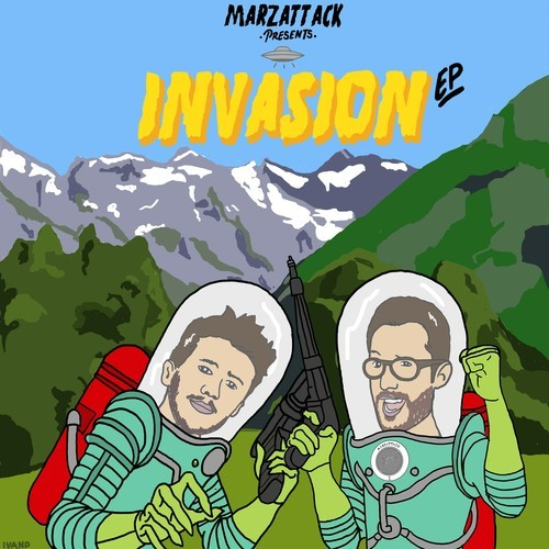 MarzAttack! - Invasion EP DYLTS