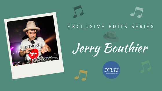 """Jerry Bouthier's Exclusive Edit for Todd Terje's """"Ragysh"""""""