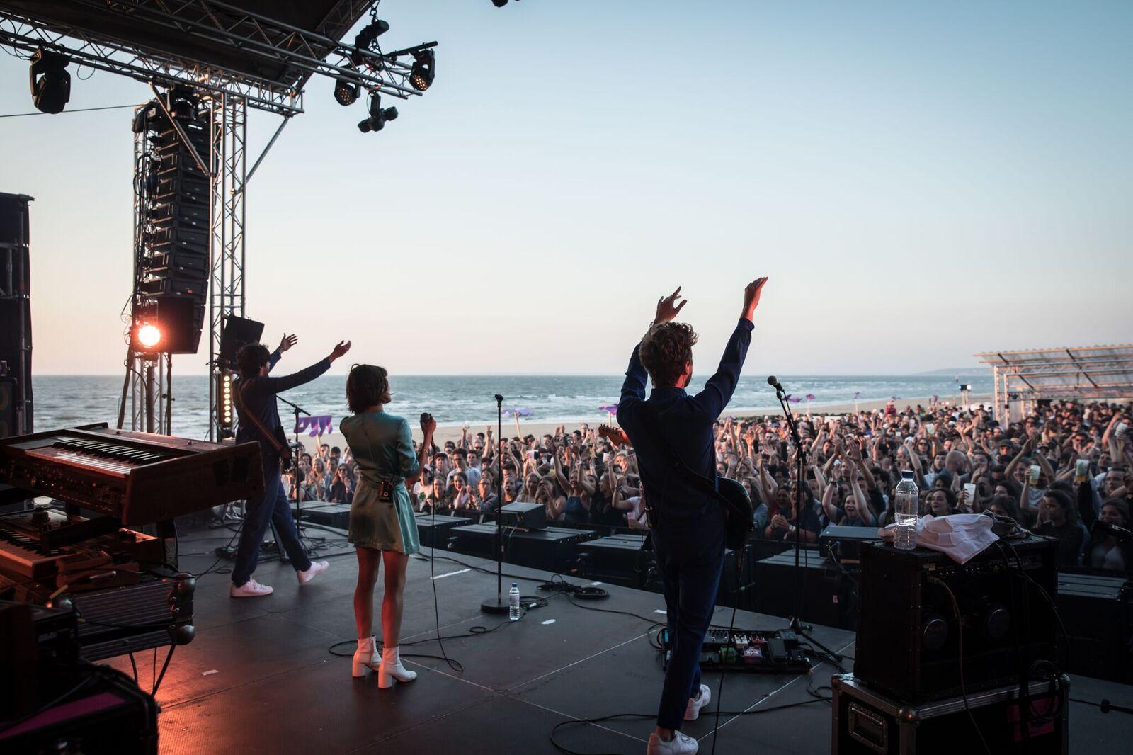 Cabourg, Mon Amour : 3 jours de musique les pieds dans le sable